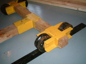 LATERAL LUMBER UNIT GRAVITY ROLL-OFF SYSTEM Thumbnail